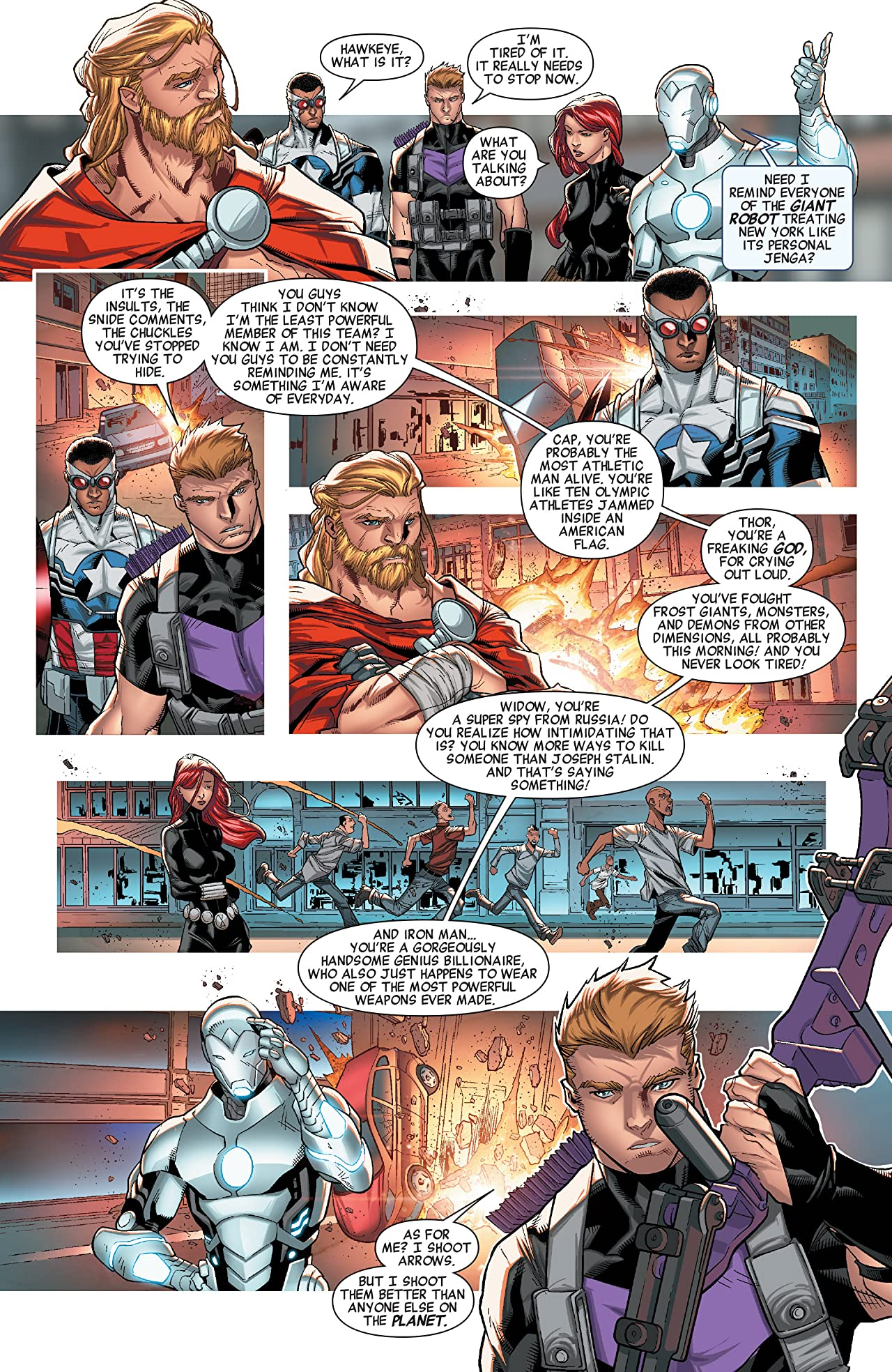 Avengers: No More Bullying #1