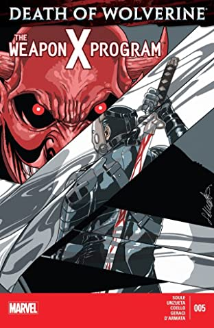 Death of Wolverine: The Weapon X Program No.5 (sur 5)