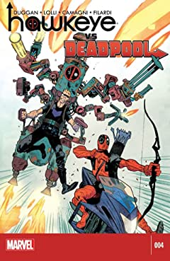 Hawkeye vs. Deadpool #4 (of 4)