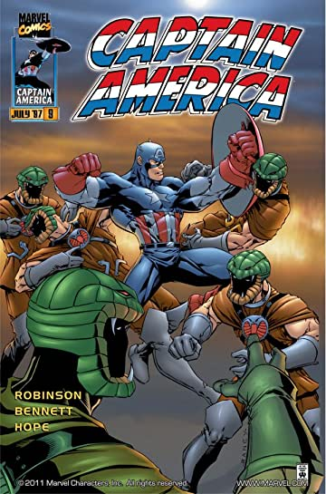 Captain America (1996-1998) #9