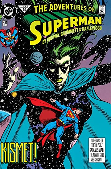 Adventures of Superman (1986-2006) #494