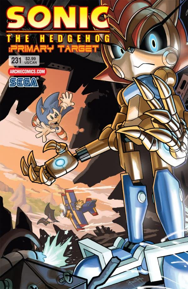 Sonic the Hedgehog #231