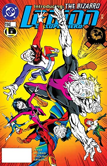 Legion of Super-Heroes (1989-2000) #114
