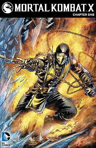 Mortal Kombat X (2015) No.1