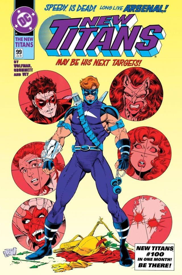The New Titans (1984-1996) #99