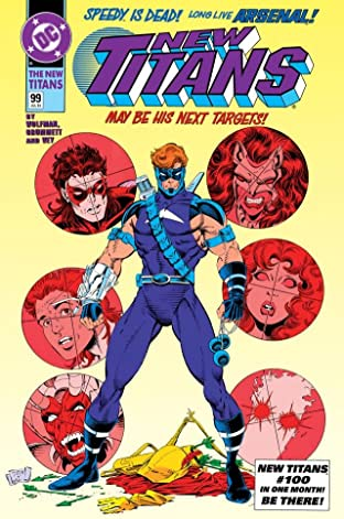 The New Titans (1984-1996) #99