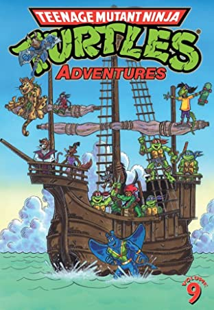 Teenage Mutant Ninja Turtles Adventures Tome 9