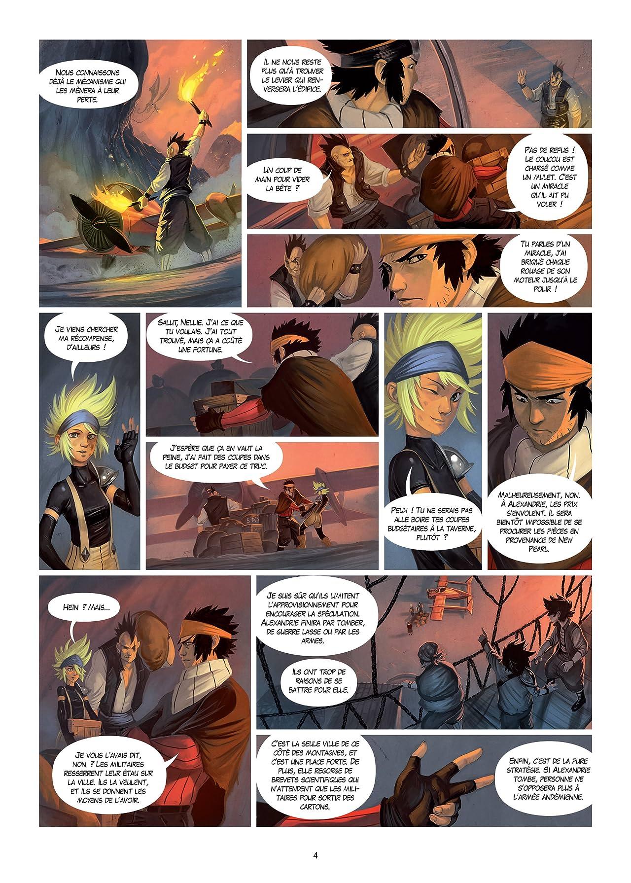 Le Soufflevent Vol. 2: Côtes pirates - Monts andémiens
