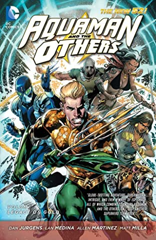 Aquaman and the Others Vol. 1: Legacy of Gold