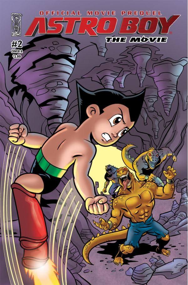 Astro Boy: Underground - The Official Movie Prequel #2