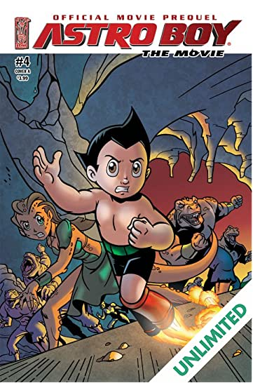 Astro Boy: Underground - The Official Movie Prequel #4