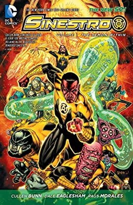 Sinestro (2014-2016) Vol. 1: The Demon Within