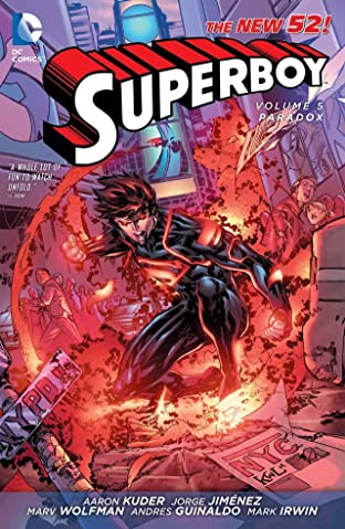 Superboy (2011-2014) Vol. 5: Paradox