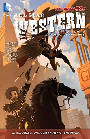 All Star Western (2011-2014) Tome 2: The War of Lords and Owls