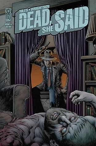 Dead She Said #1