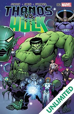 Thanos vs. Hulk #2 (of 4)