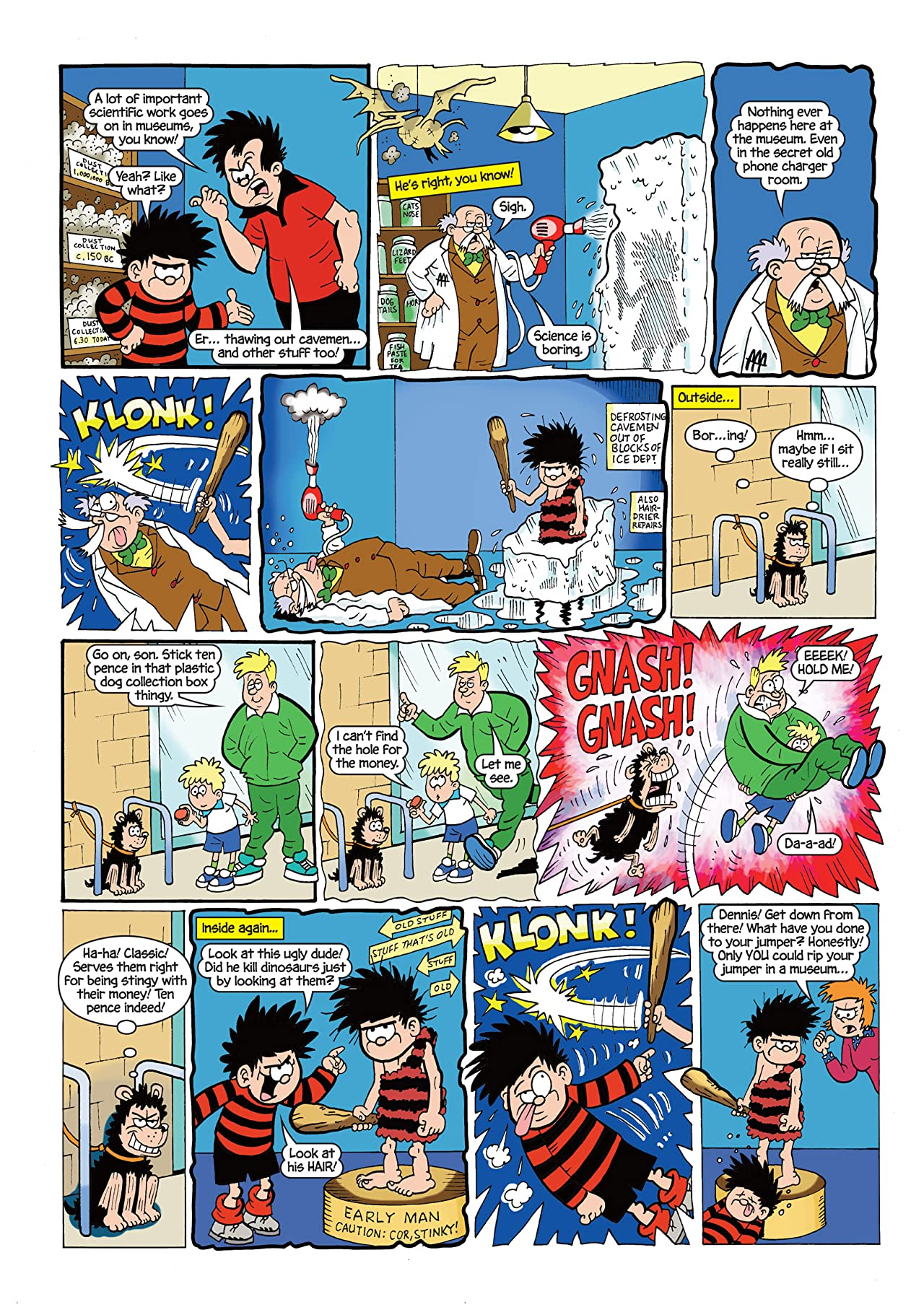 The Beano presents Dennis the Menace and Gnasher #6: Monster Menaces