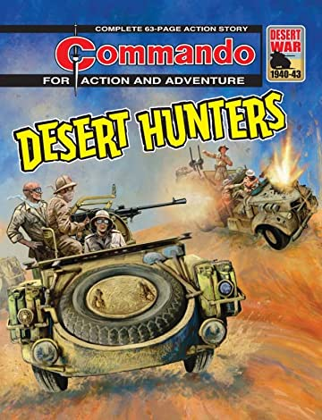 Commando #4737: Desert Hunters
