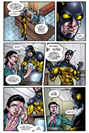 Nightwasp: The Man Who Is Hardly Ever Afraid #3