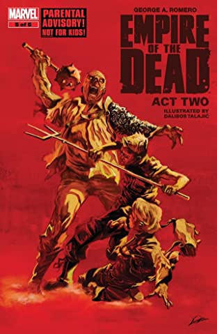 George Romero's Empire of the Dead: Act Two #5 (of 5)