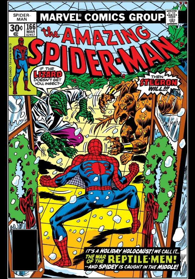 Amazing Spider-Man (1963-1998) #166