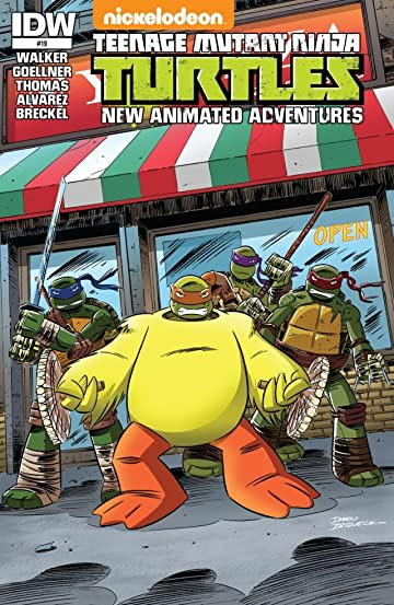 Teenage Mutant Ninja Turtles: New Animated Adventures #19
