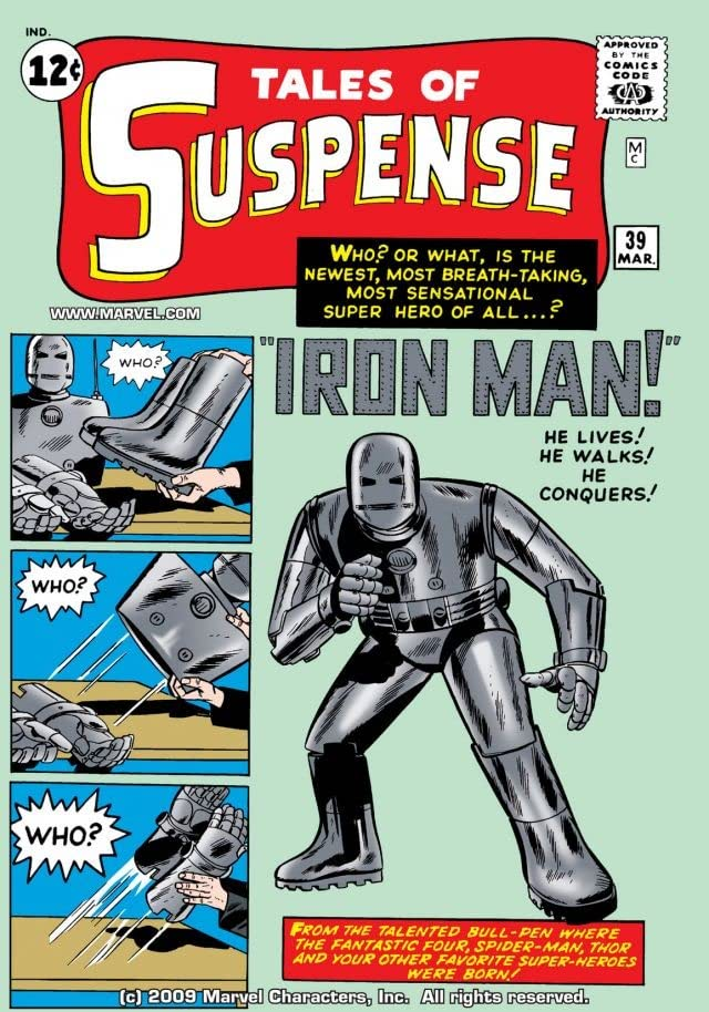 Tales of Suspense (1959-1968) #39