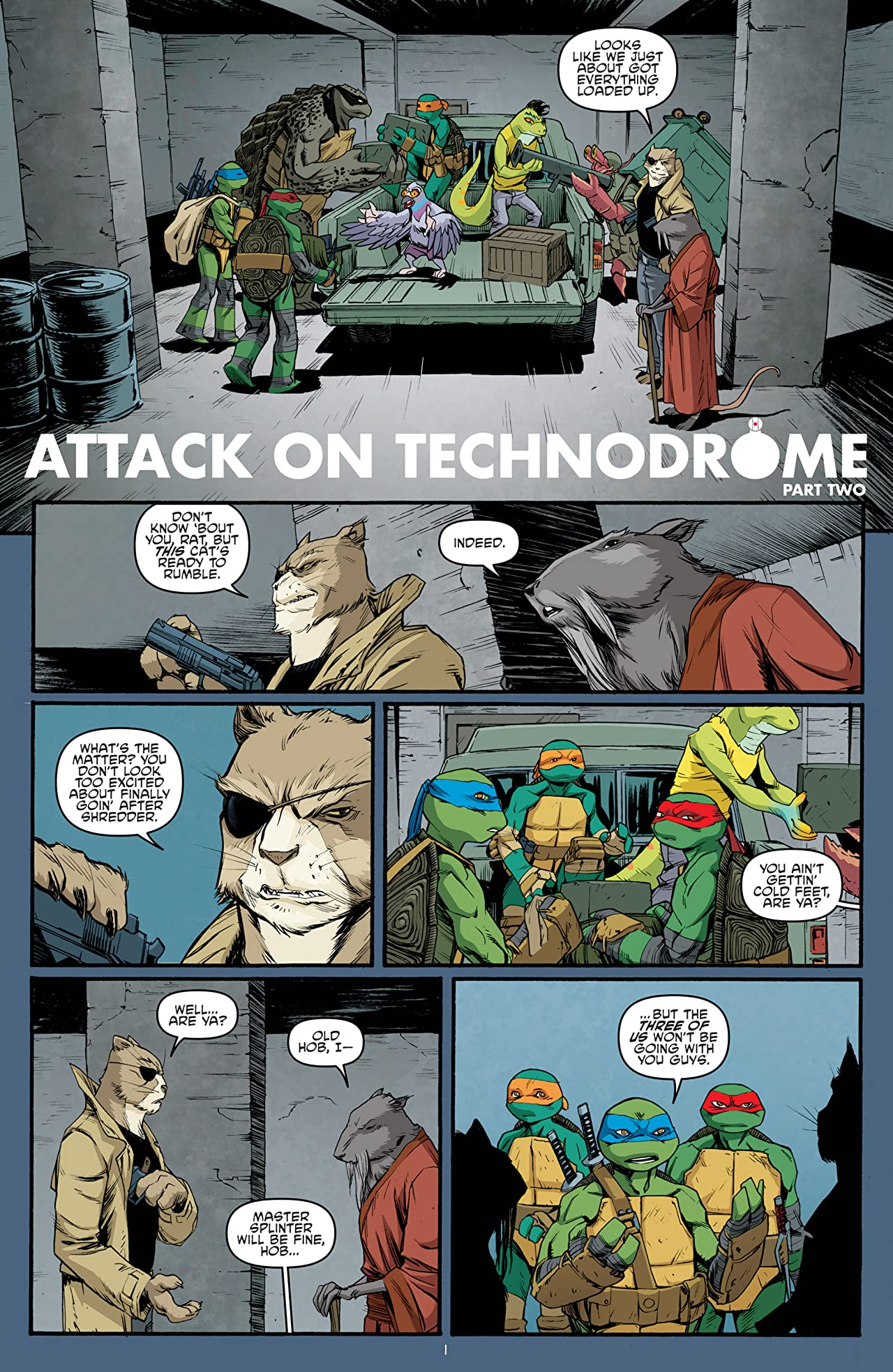 Teenage Mutant Ninja Turtles #42