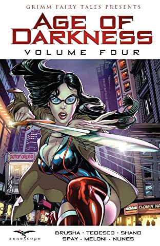 Grimm Fairy Tales: Age of Darkness Tome 4