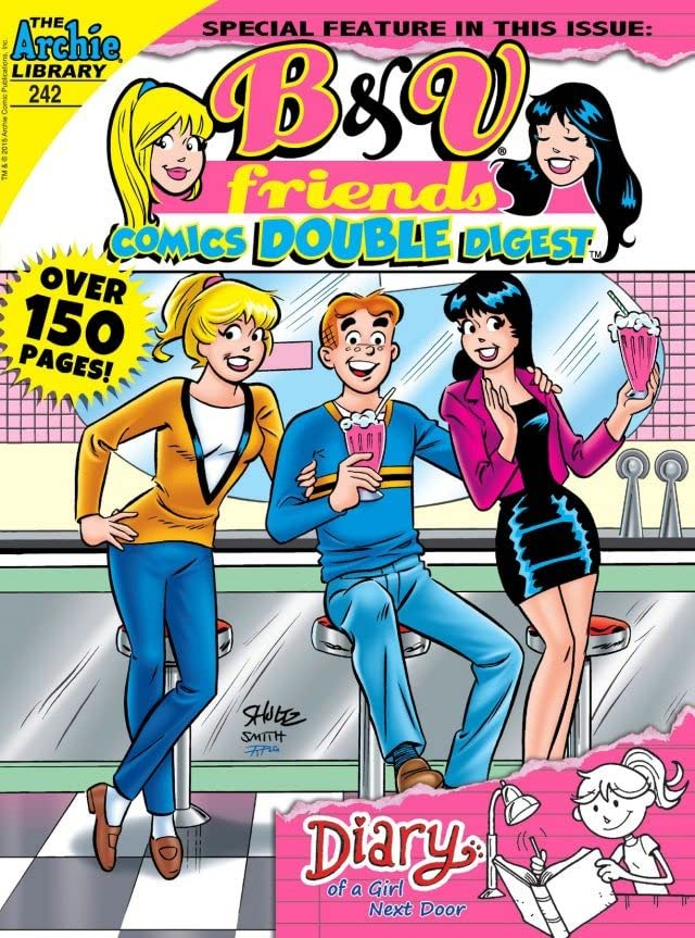 B & V Friends Comics Double Digest #242
