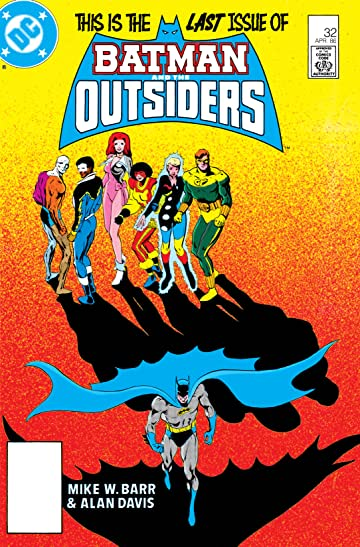 Batman and the Outsiders (1983-1987) #32