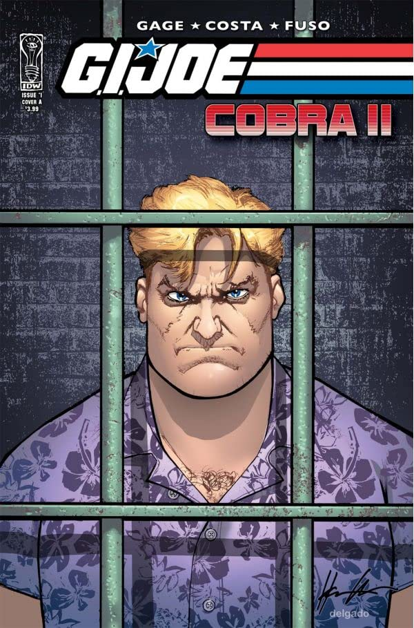G.I. Joe: Cobra #1 : Cobra II: Forked Tongue