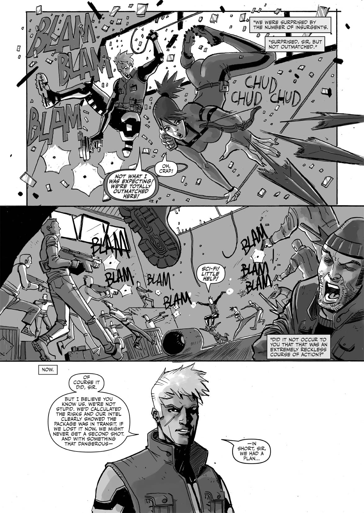 G.I. Joe: Future Noir Special #1