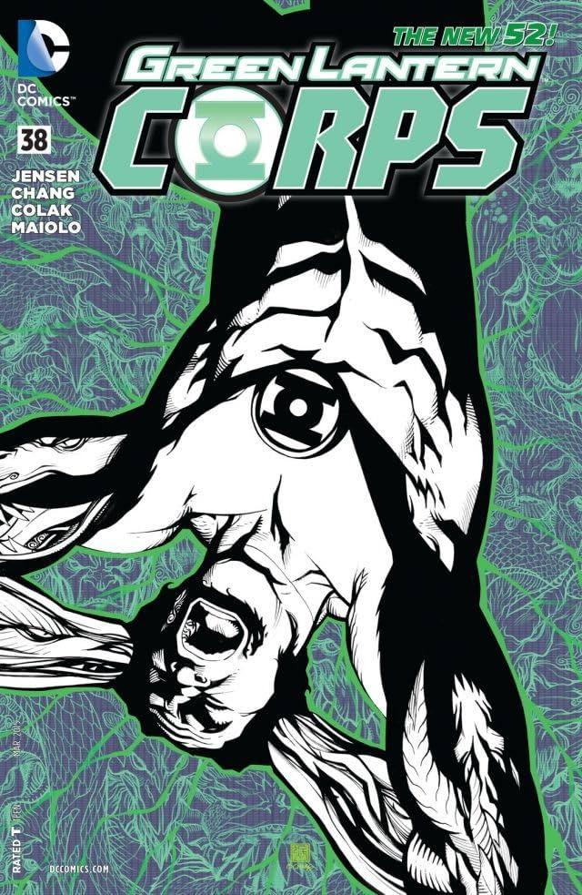 Green Lantern Corps (2011-2015) #38