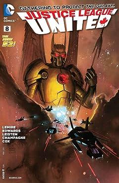Justice League United (2014-2015) #8