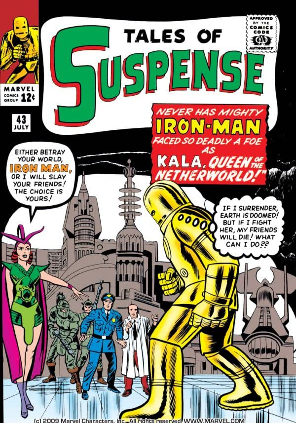 Tales of Suspense (1959-1968) #43