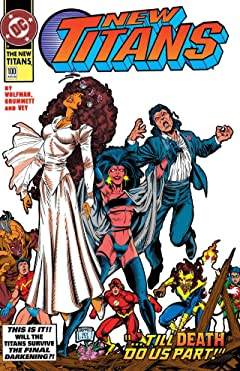 The New Titans (1984-1996) #100