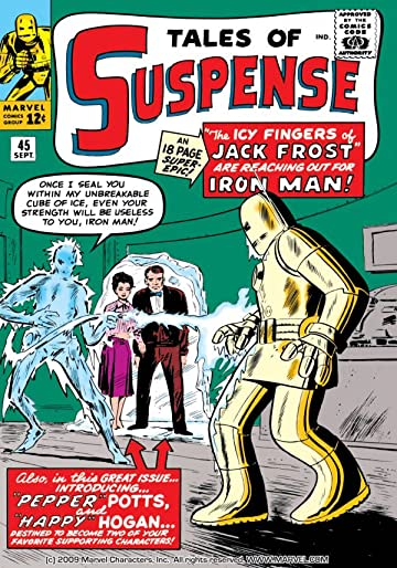 Tales of Suspense (1959-1968) #45