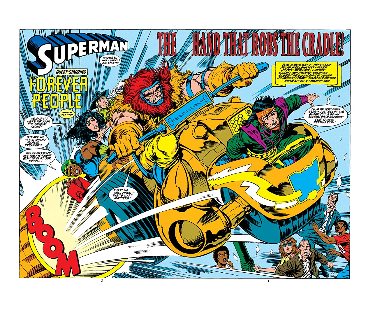 Adventures of Superman (1986-2006) #495