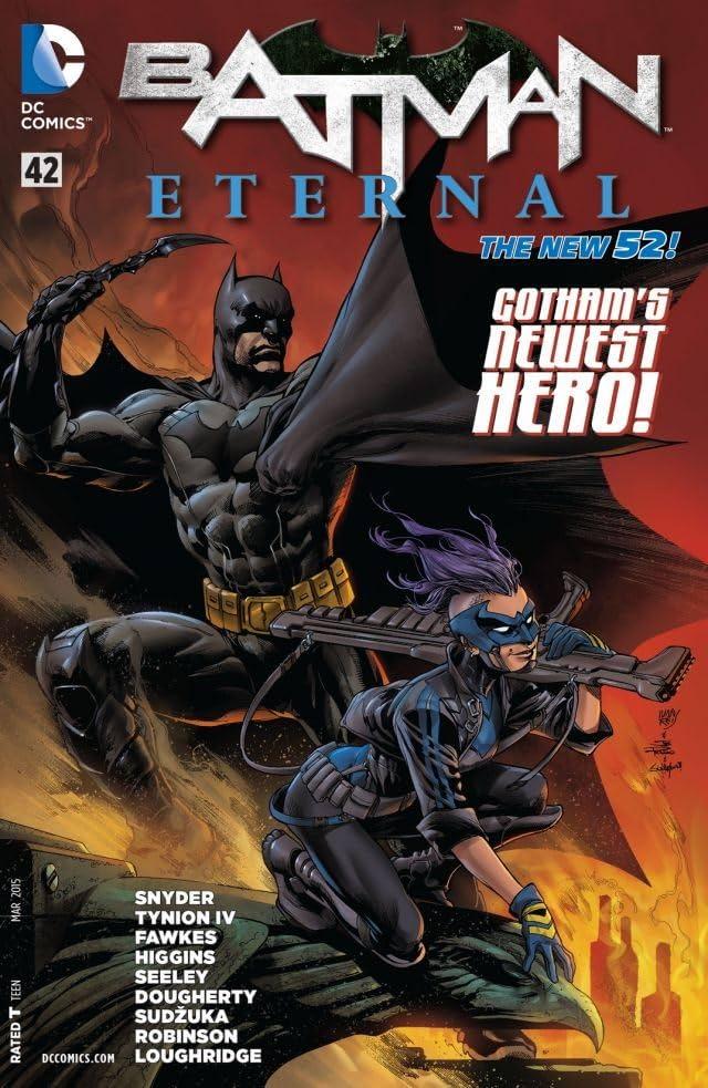 Batman Eternal #42 2014 New 52 DC Comics
