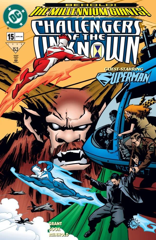 Challengers of the Unknown (1997-1998) #15