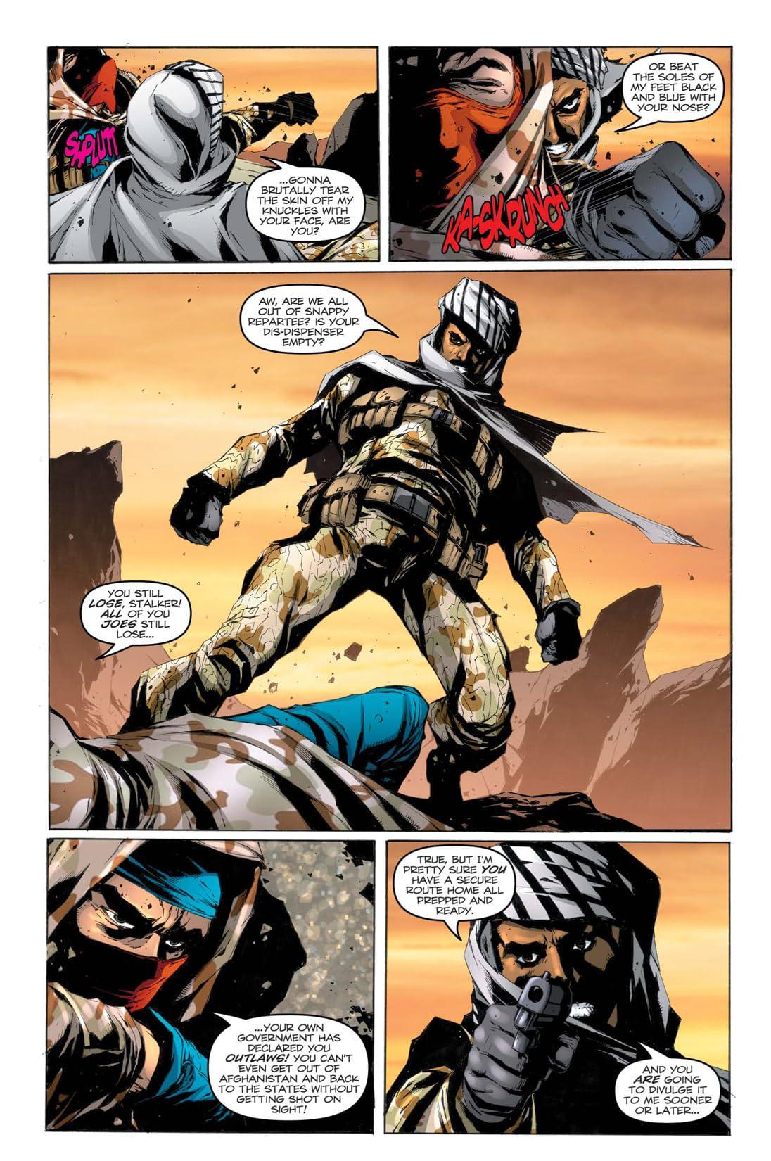 G.I. Joe: A Real American Hero No.157