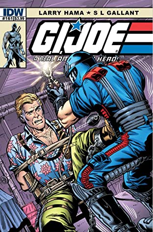 G.I. Joe: A Real American Hero No.161