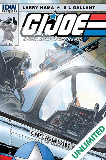 G.I. Joe: A Real American Hero #165