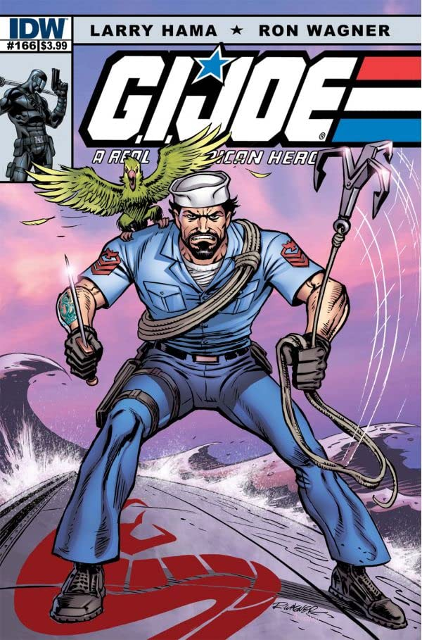 G.I. Joe: A Real American Hero No.166