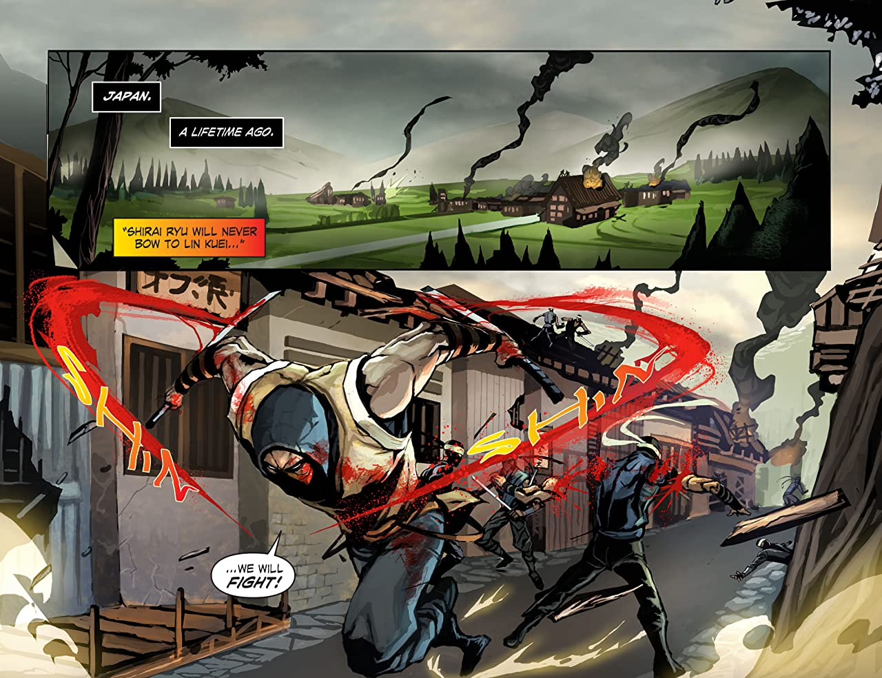 Mortal Kombat X (2015) No.3