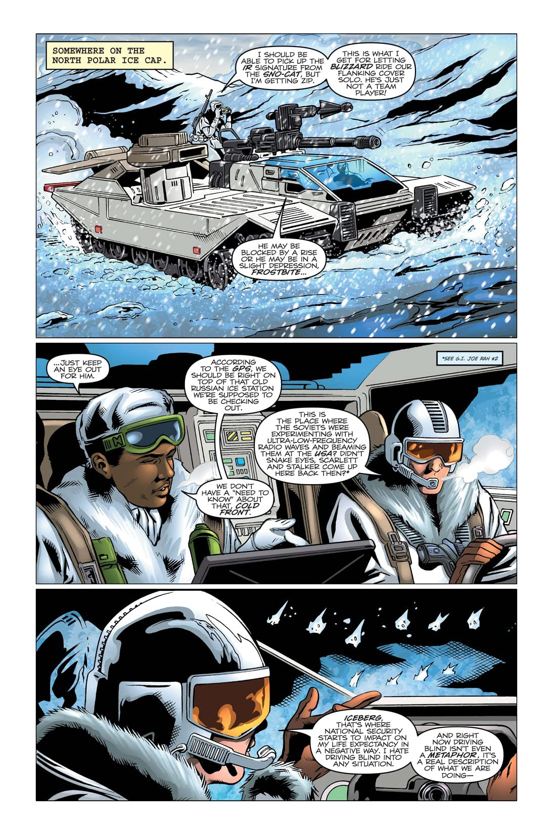 G.I. Joe: A Real American Hero #167