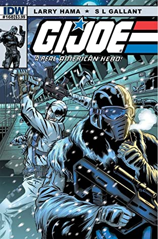 G.I. Joe: A Real American Hero No.168
