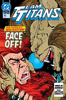 Team Titans (1992-1994) #10