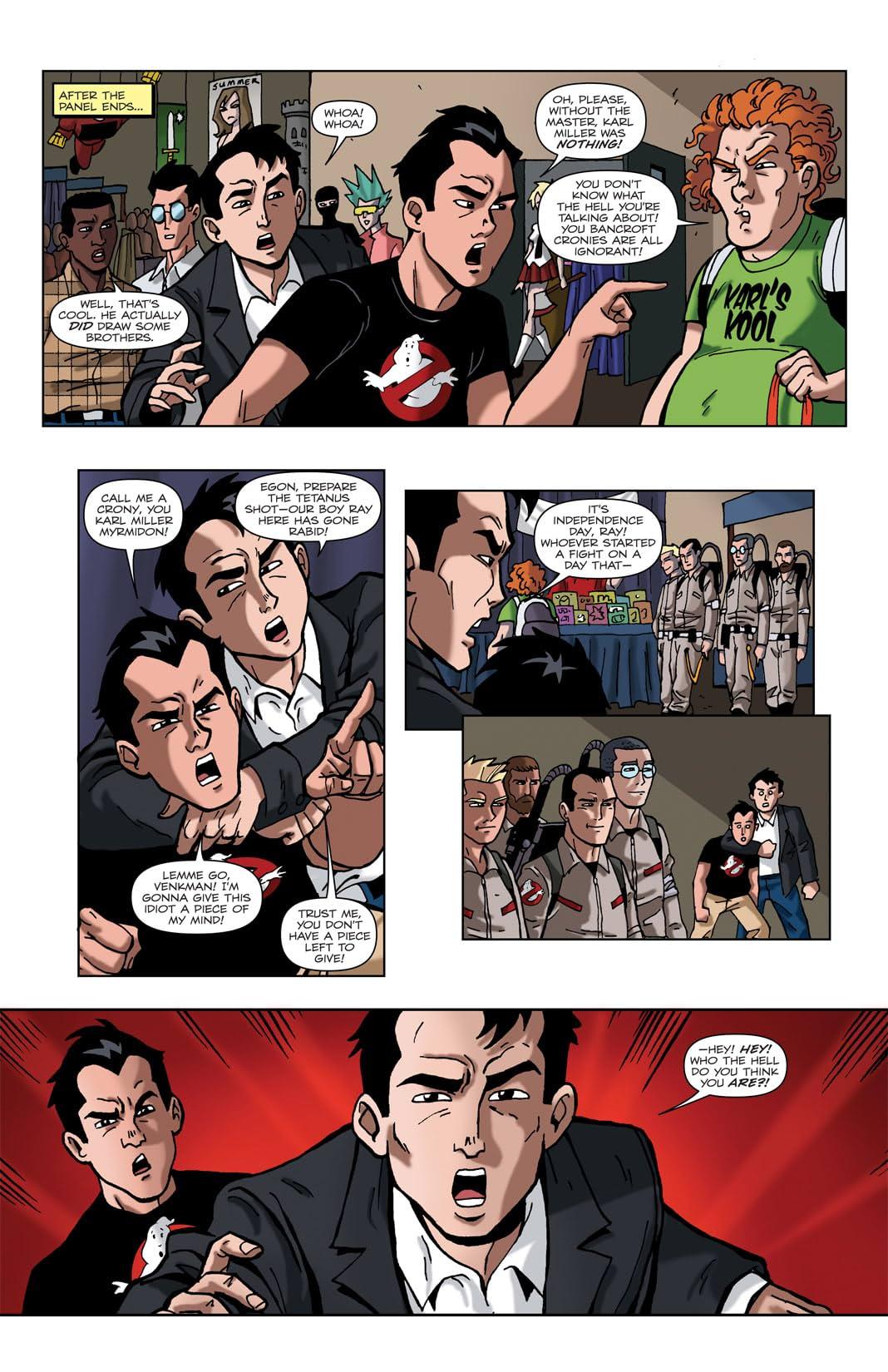 Ghostbusters: Con-Volution